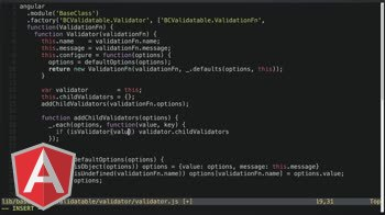angularjs tutorial about Adding Child Validators