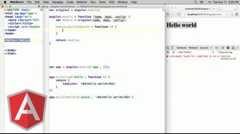 AngularJS tutorial about Adding custom methods to angular.module