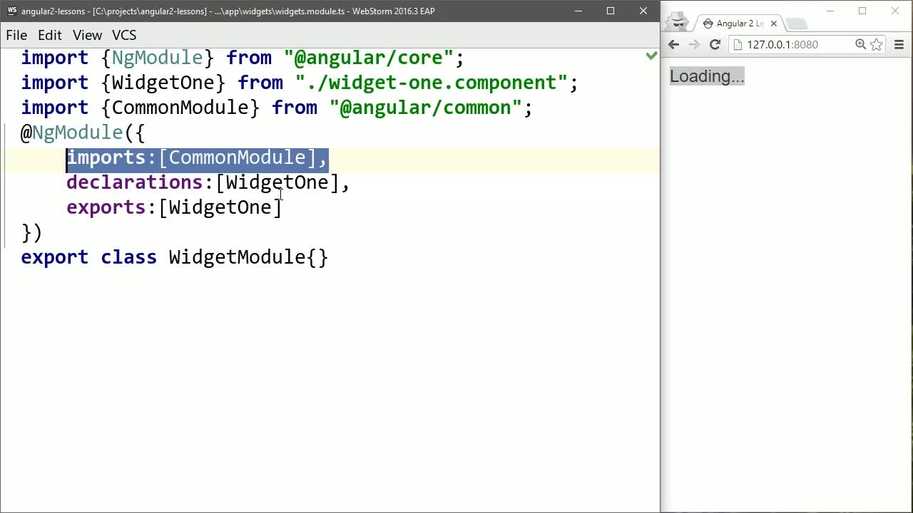 angular2 tutorial about Create Shareable Angular 2 Components