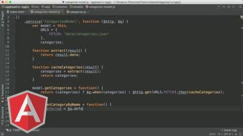 AngularJS tutorial about AngularJS Architecture: Control your promises with $q