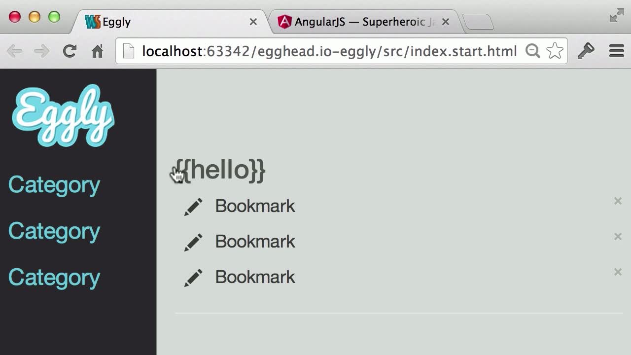 angularjs tutorial about Bootstrap AngularJS into a Static HTML file