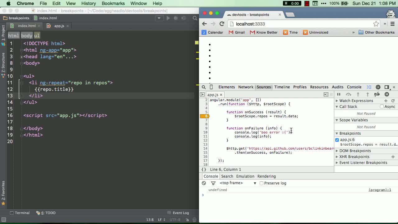 chrome-devtools tutorial about Editing breakpoints in Chrome devtools