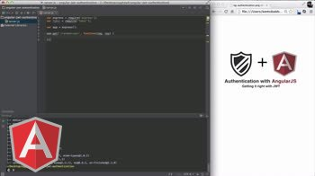 angularjs tutorial about Basic Server Setup for JWT Authentication