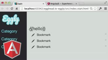 AngularJS tutorial about Building an Angular App: Bootstrapping