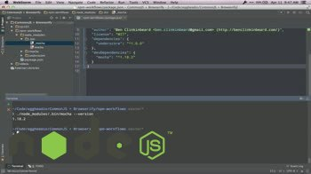 AngularJS tutorial about CLI node modules