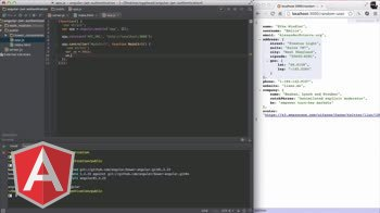 angularjs tutorial about Client Setup for JWT Authentication