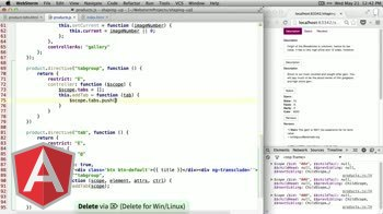 angularjs tutorial about CodeSchool Refactor - Flexible Directives Part 2/2