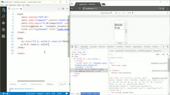 tachyons tutorial about Design for Mobile First with Tachyons