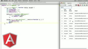 angularjs tutorial about Debounce (delay) User Input in AngularJS with Lodash