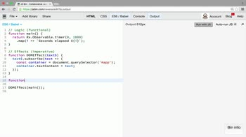 AngularJS tutorial about Main function and effects functions