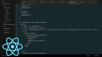 AngularJS tutorial about React Native: Build a Github Repositories component