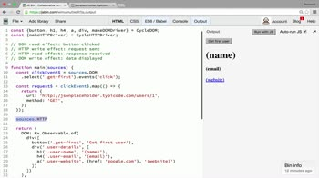 AngularJS tutorial about Using the HTTP Driver