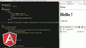 AngularJS tutorial about Angular 2: Template Syntax