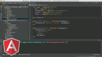 angularjs tutorial about Angular Automation: Gulp Config