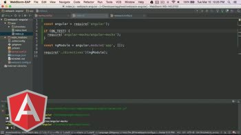 angularjs tutorial about Angular with Webpack - Testing with Karma, Mocha, and Chai