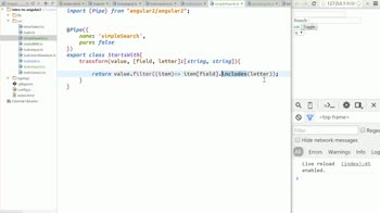 AngularJS tutorial about Create a simple search Pipe [obsolete]