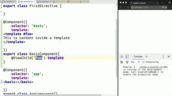 angular2 tutorial about Use Template Elements in Angular 2