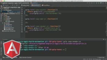 angularjs tutorial about Angular Automation: Copy Assets with Gulp