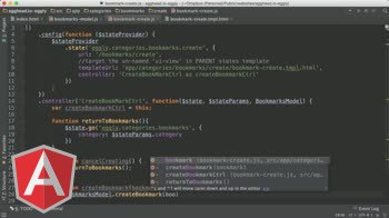 angularjs tutorial about AngularJS Architecture: Create Bookmark
