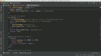 angularjs tutorial about Compile an Angular Application Written in ES6