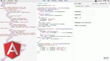 angularjs tutorial about Transforming raw JSON data to meaningful output in AngularJS