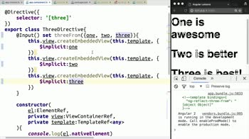AngularJS tutorial about Assign a Structual Directive a Dynamic Context in Angular 2