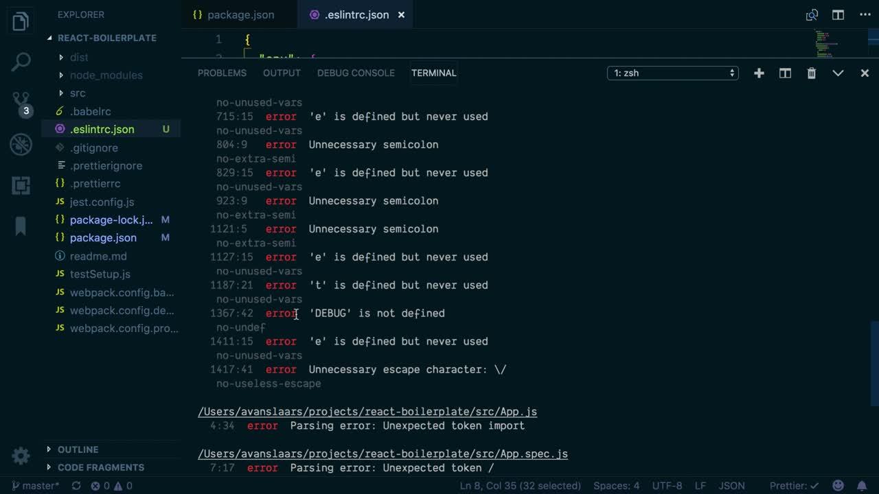 Avoid Common JavaScript Errors with ESLint from @avanslaars on