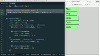 AngularJS tutorial about Better Code Organization with selection.call() with D3 v4