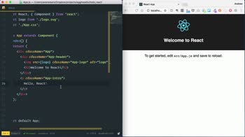 react tutorial about Bootstrap a React Application through the CLI with Create React App