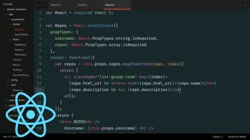 AngularJS tutorial about Building a React.js App: Rendering a UI of Dynamic Data