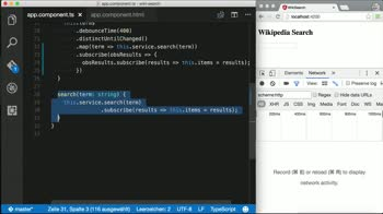 angular2 tutorial about Combine Observables in Angular 2 with flatMap