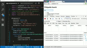 angular2 tutorial about Prevent unnecessary requests in Angular 2 with distinctUntilChanged