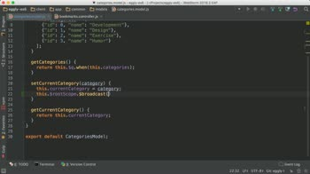 angularjs tutorial about Communicate State Changes in Angular with an Event Bus