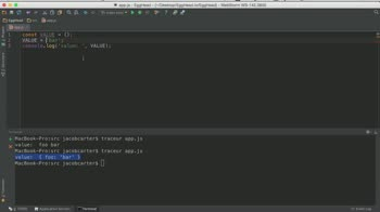 js tutorial about const Declarations in es6 (ES2015)