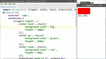 angular2 tutorial about Control Undefined Angular States with void State
