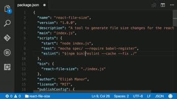 otherjs tutorial about Create a custom npm script
