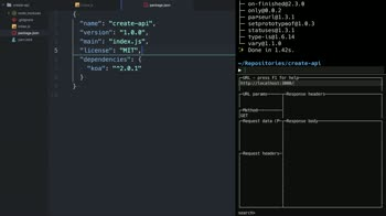 node tutorial about Create a modern web API using Koa v2 and ES2017