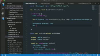 angular tutorial about Create iOS custom UIViewController components with NativeScript for Angular