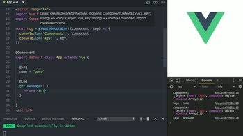 Create your own Decorators in Vue with TypeScript from