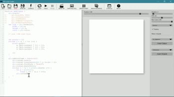 js tutorial about Custom Drawing in GIF Loop Coder