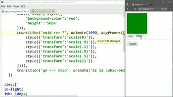 AngularJS tutorial about Define Two-Way Transitions for Angular 2 States