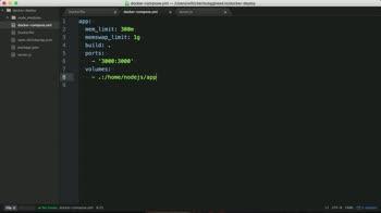 node tutorial about Deploy Node.js on Docker