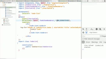 AngularJS tutorial about Exposing component properties to the template [obsolete]