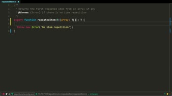 typescript tutorial about Find the repeated item in an array using TypeScript