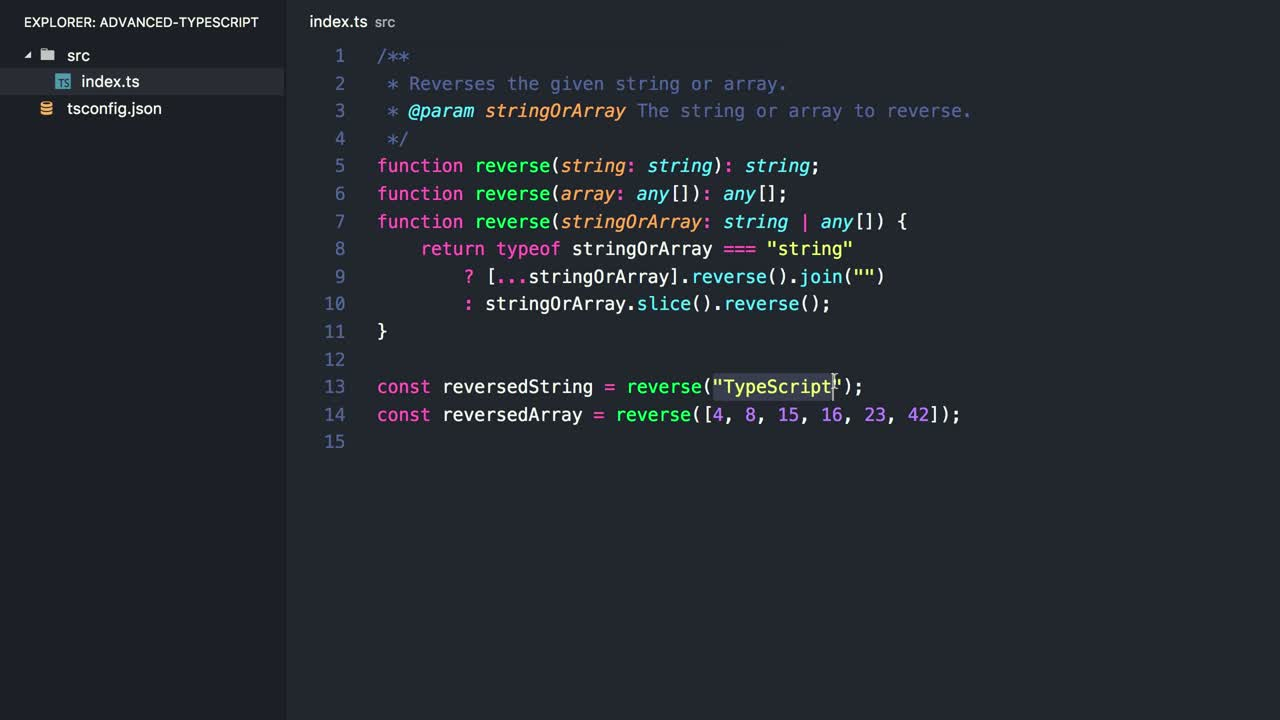 typescript tutorial about Overload a Function with TypeScript's Overload Signatures