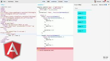 AngularJS tutorial about Getting started with $animateCss and Angular