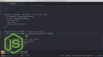AngularJS tutorial about Getting Started with Express - Advanced Routing