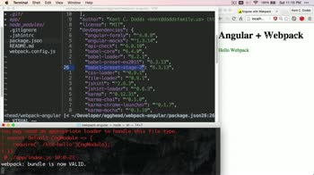 angularjs tutorial about Updating Babel 5 to 6
