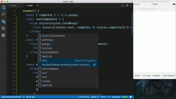 AngularJS tutorial about Inline Edit Todo Items in a React Native ListView