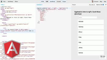 AngularJS tutorial about Introduction to ngFx for Angular animations